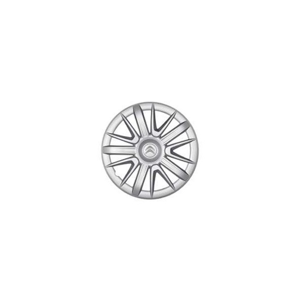 enjoliveur de roue amarna 16 logo citroen accessoires citro n. Black Bedroom Furniture Sets. Home Design Ideas