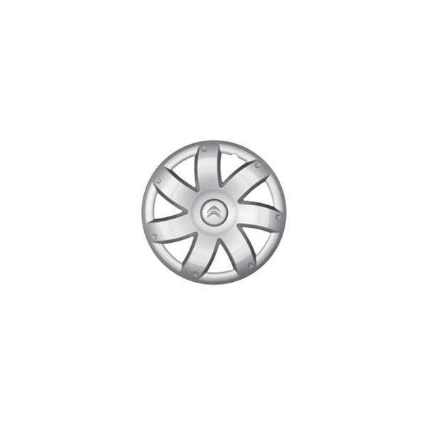 enjoliveur de roue naos 14 avec nouveau logo citro n c1. Black Bedroom Furniture Sets. Home Design Ideas