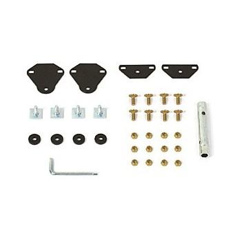 kit d adaptation de porte skis pour barres de toit avec rainures accessoires citro n. Black Bedroom Furniture Sets. Home Design Ideas