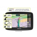 SYSTEME DE NAVIGATION NOMADE 5'' VIA 52 CARTE EUROPE