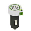 CHARGEUR 2 USB MAXI 2,1 AMP.