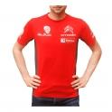 T-Shirt Citroën Racing Rouge Lycra