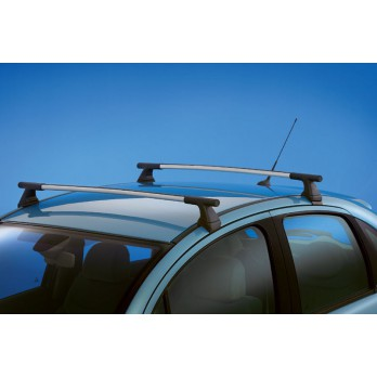 barres de toit aluminium c3 accessoires midiauto citroen. Black Bedroom Furniture Sets. Home Design Ideas