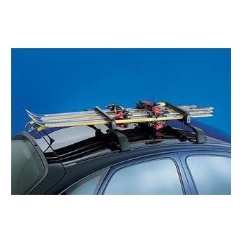 jeu porte skis sur barres de toit accessoires midiauto. Black Bedroom Furniture Sets. Home Design Ideas