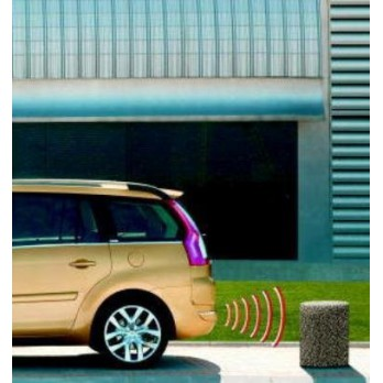 aide au stationnement arriere 4 capteurs citroen. Black Bedroom Furniture Sets. Home Design Ideas